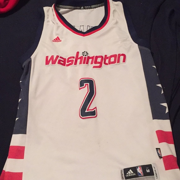promo code d26e7 fc14a Authentic John wall wizards jersey NWT